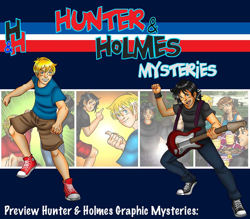 Hunter & Holmes comics home page